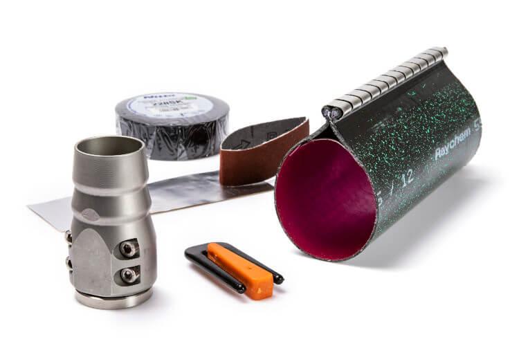 Product image Kabelgenomföringssats delbar 2x18mm